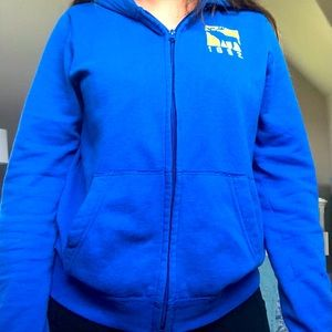 Blue Abercrombie Kids Sweater
